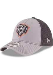 New Era Chicago Bears Mens Grey Grayed Out Neo 39THIRTY Flex Hat