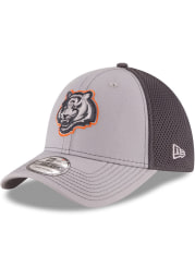New Era Cincinnati Bengals Mens Grey Grayed Out Neo 39THIRTY Flex Hat