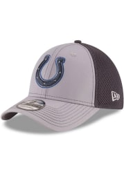 New Era Indianapolis Colts Mens Grey Grayed Out Neo 39THIRTY Flex Hat