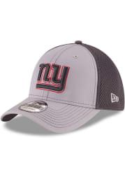 New Era New York Giants Mens Grey Grayed Out Neo 39THIRTY Flex Hat