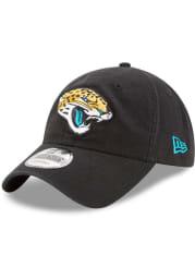 New Era Jacksonville Jaguars Core Classic 9TWENTY Adjustable Hat - Black