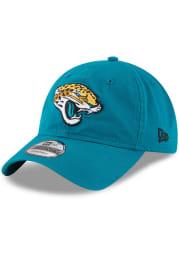 New Era Jacksonville Jaguars Core Classic 9TWENTY Adjustable Hat - Teal