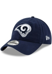 New Era Los Angeles Rams Core Classic 9TWENTY Adjustable Hat - Navy Blue