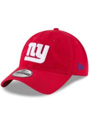 New Era New York Giants Core Classic 9TWENTY Adjustable Hat - Red