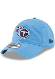 New Era Tennessee Titans Core Classic 9TWENTY Adjustable Hat - Light Blue