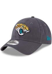 New Era Jacksonville Jaguars Core Classic 9TWENTY Adjustable Hat - Grey