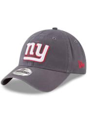 New Era New York Giants Core Classic 9TWENTY Adjustable Hat - Grey