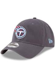 New Era Tennessee Titans Core Classic 9TWENTY Adjustable Hat - Grey