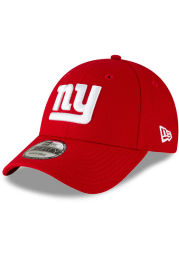 New Era New York Giants The League 9FORTY Adjustable Hat - Red