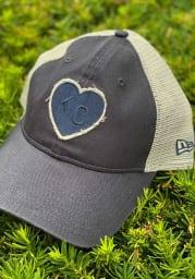 New Era Kansas City Monarchs 2T Meshback 9TWENTY Adjustable Hat - Navy Blue