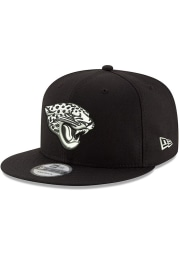 New Era Jacksonville Jaguars Black Basic 9FIFTY Mens Snapback Hat