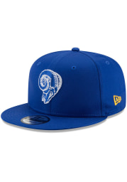 New Era Los Angeles Rams Blue Basic 9FIFTY Mens Snapback Hat