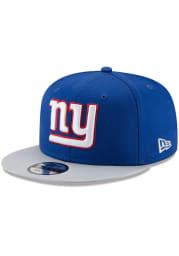New Era New York Giants Blue Basic 9FIFTY Mens Snapback Hat