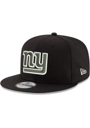 New Era New York Giants Black Basic 9FIFTY Mens Snapback Hat