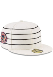 New Era Philadelphia Athletics Mens White 1910 World Series Side Patch 59FIFTY Fitted Hat