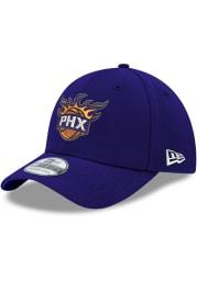 New Era Phoenix Suns Mens Purple Team Classic 39THIRTY Flex Hat