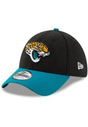 New Era Jacksonville Jaguars Mens Black Team Classic 39THIRTY Flex Hat
