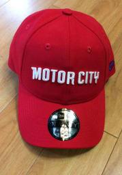 New Era Detroit Pistons 2019 City Series 9TWENTY Adjustable Hat - Red