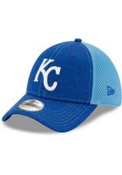 New Era Kansas City Royals Blue JR STH Neo 39THIRTY Youth Flex Hat