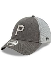New Era Pittsburgh Pirates Grey JR STH Neo 39THIRTY Youth Flex Hat