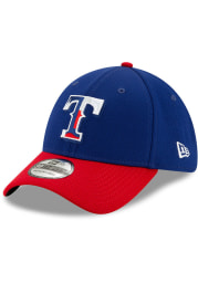 New Era Texas Rangers Mens Blue 2020 Batting Practice 39THIRTY Flex Hat