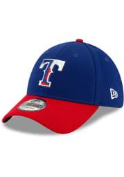 New Era Texas Rangers Mens Blue 2020 Spring Training 39THIRTY Flex Hat