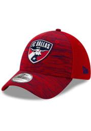 New Era FC Dallas Mens Red 2020 Official 39THIRTY Flex Hat