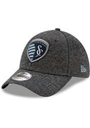 New Era Sporting Kansas City Mens Grey STH Club 39THIRTY Flex Hat