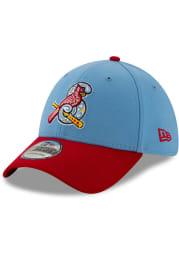 New Era Springfield Cardinals Mens Light Blue Copa de la Diversion 39THIRTY Flex Hat