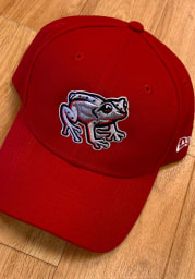 New Era Lehigh Valley Ironpigs Copa The League 9FORTY Adjustable Hat - Red