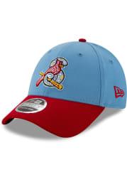 New Era Springfield Cardinals Copa de la Diversion SS 9FORTY Adjustable Hat - Light Blue