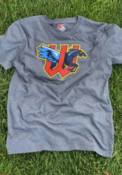 New Era Wichita Wind Surge Navy Blue Primary Logo Short Sleeve T Shirt