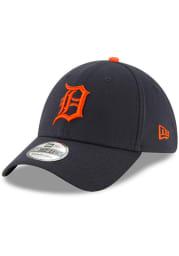 New Era Detroit Tigers Navy Blue Road Team Classic JR 39THIRTY Youth Flex Hat