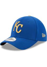 New Era Kansas City Royals Blue Alt Team Classic JR 39THIRTY Youth Flex Hat