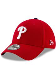 New Era Philadelphia Phillies Red Home Team Classic JR 39THIRTY Youth Flex Hat
