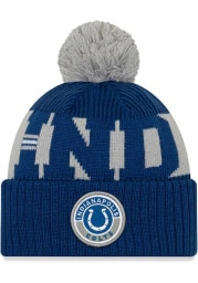 New Era Indianapolis Colts Blue 2020 Sideline Sport Mens Knit Hat