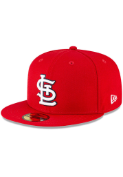 New Era St Louis Cardinals Mens Red QT Pink Undervisor 59FIFTY Fitted Hat