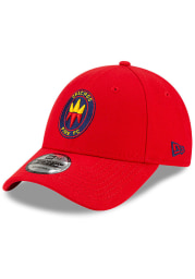 New Era Chicago Fire Secondary 9FORTY Adjustable Hat - Red