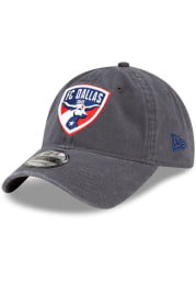 New Era FC Dallas Core Classic 9TWENTY Adjustable Hat - Grey