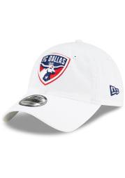 New Era FC Dallas Core Classic 9TWENTY Adjustable Hat - White