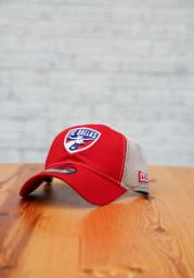 New Era FC Dallas Casual Classic Meshback Adjustable Hat - Red