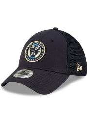 New Era Philadelphia Union Mens Navy Blue Team Neo 39THIRTY Flex Hat