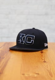 New Era Kansas City Monarchs Mens Navy Blue 2020 NLB Game 59FIFTY Fitted Hat