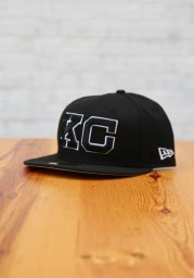 New Era Kansas City Monarchs Mens Black 2020 NLB Game 59FIFTY Fitted Hat