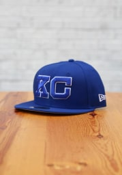 New Era Kansas City Monarchs Mens Blue 2020 NLB Game 59FIFTY Fitted Hat