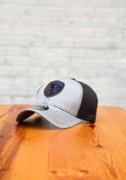 New Era Sporting Kansas City Mens Grey Grayed Out Neo 39THIRTY Flex Hat
