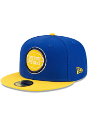New Era Detroit Pistons Mens Blue ASG Color Pack 59FIFTY Fitted Hat