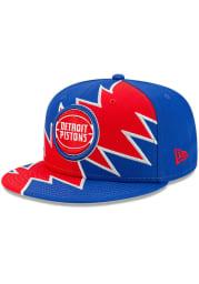 New Era Detroit Pistons Blue ASG Tear 9FIFTY Mens Snapback Hat