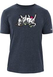 New Era Wichita Wind Surge Navy Blue COPA Short Sleeve T Shirt