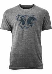 New Era Wichita Wind Surge Grey Pop Outline Short Sleeve T Shirt